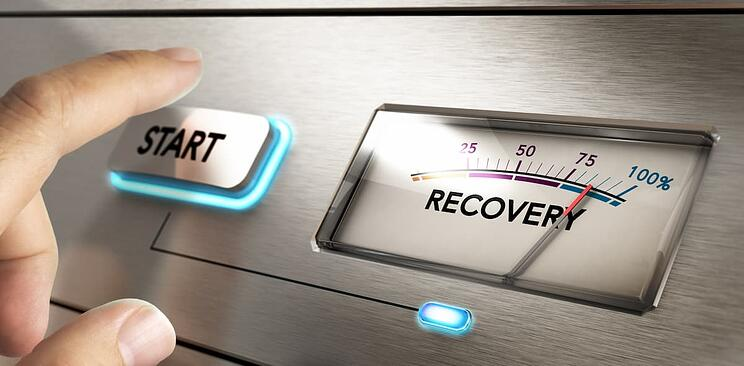 Recovery meter